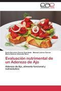 Evaluaci�n Nutrimental de un Aderezo de Ajo