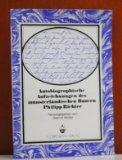 Autobiographische Aufzeichnungen des munsterlandischen Bauern Philipp Richter (1815-1890) (B...