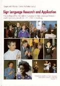 Sign Language Research and Application Proceedings of the International Congress Hamburg Mar...