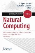 Natural Computing: 4th International Workshop on Natural Computing, Himeji, Japan, September...