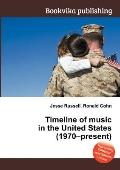 Timeline of Music in the United States