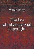 The law of international copyright