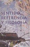 Sentido, referencia y filosofía
