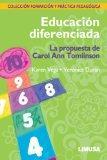 EDUCACION DIFERENCIADA, LA PROPUESTA DE CAROL ANN TOMLINSON