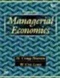 Managerial Economics 4th Ed