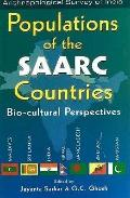 Populations of the SAARC Countries: Bio-cultural Perspectives