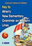 Key to New Elementary English Grammar 5
