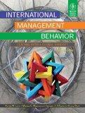 INTERNATIONAL MANAGEMENT BEHAVIOR: LEADING WITH A GLOBAL MINDSET, 6TH ED