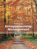 Patterns of Enterpreneurship Management
