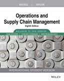 Operations and Supply Chain Management, 8TH ED