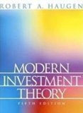 Modern Investment Theory (Edn 5) By Robert A. Haugen