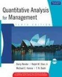 Quantitative Analysis for Management 10th edition