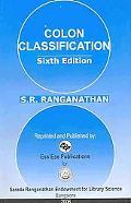 Colon Classification Basic Classification