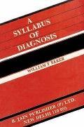 Syllabus of Diagnosis