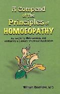 Compend of the Principles of Homoeopathy