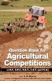 Question Bank For Agricultural Competitions Useful For Jrf Srf Net Cet and Phd (PB)