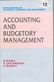 Encyclopaedia of Economics, Commerce and Management-Accounting and Budgetary Management (Vol...