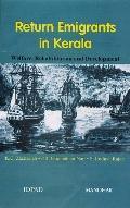 Return Emigrants in Kerala Welfare, Rehabilitation, and Development