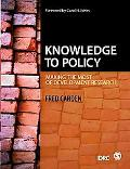 Knowledge to Policy: Making the Most of Development Research