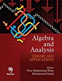 Algebra and Analysis: Theory and Applications