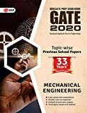 GATE 2020 : MECHANICAL ENGINEERING 33 YEARS TOPIC WISE PREVIOUS SOLVED PAPERS