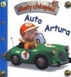 Auto Artura. Maly chlopiec