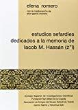 Estudios Sefardaies Dedicados a la Memoria de Iacob M. Hassaan, Z l
