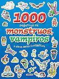 1000 pegatinas de monstruos, vampiros y otros seres fantasticos (Spanish Edition)
