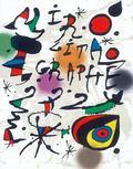 Joan Miro, Litografo, 1964-1970