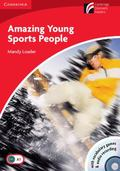 Amazing Young Sports People Level 1 Beginner/Elementary Book with CD-ROM and Audio CD Pack (...