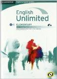 English Unlimited for Spanish Speakers Elementary Self-study Pack (Workbook with DVD-ROM and...