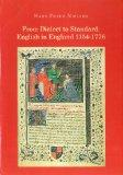 From Dialect to Standard: English in England 1154-1776 (NOWELE Supplement Series)