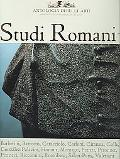 Studi Romani I Antologia Di Belli Arti Diretta da Alvar Gonzalez-Palacios Nuova Serie, nn. 6...