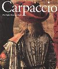 Carpaccio The Major Pictorial Cycles