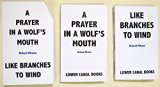 A Prayer in a Wolf's Mouth: Poems 2014