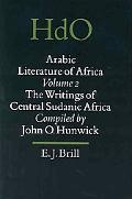 Arabic Literature of Africa The Writings of Central Sudanic Africa