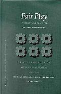 Fair Play Diversity and Conflicts in Early Christianity  Essays in Honour of Heikki Raisanen