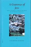 Grammar of Jero With a Historical Comparative Study of the Kiranti Languages