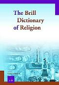 Brill Dictionary of Religion - Paperback Set