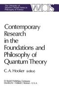 Contemporary Research in the Foundations and Philosophy of Quantum Theory
