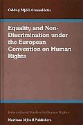 Equality and Non-Discrimination Under the European Convention on Human Rights