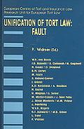 Unification Of Tort Law Fault