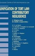Unification of Tort Law Contributory Negligence