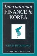 International Finance in Korea