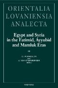 Egypt and Syria in the Fatimid, Ayyubid and Mamluk Eras III