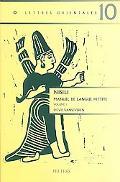 Nisili Manuel De Langue Hittite. Volume I