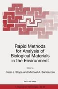 Rapid Methods for Analysis of Biological Materials in the Environment (NATO Science Partners...