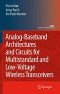 Analog-Baseband Architectures and Circuits for Multistandard and Low-Voltage Wireless Transc...