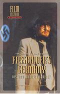 Fassbinder's Germany History Identity Subject