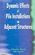 Dynamic Effects of Pile Installation on Adjacent Structures
